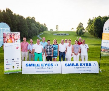 SMILE EYES Golf Trophy im GC Ebersberg