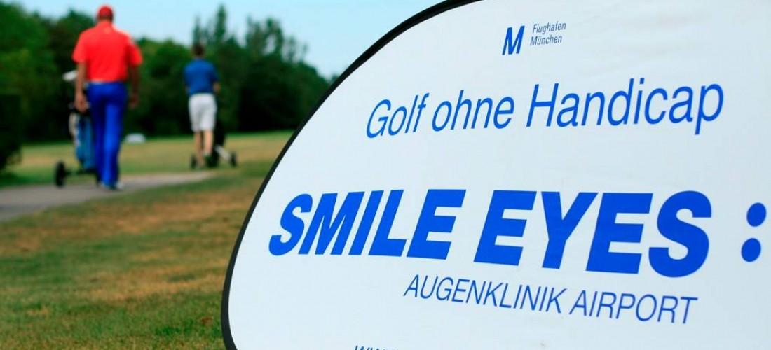 Smile Eyes Golftrophy im Golfpark Aschheim