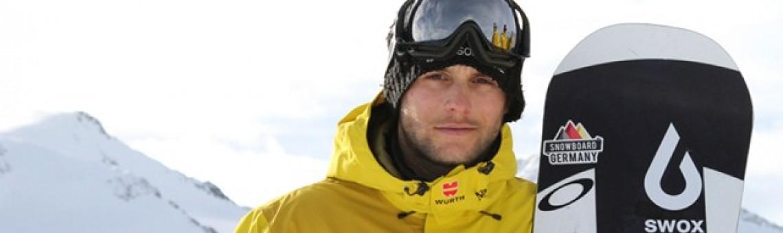 Snowboardcrosser Konstantin Schad hat deutschen Meistertitel verteidigt