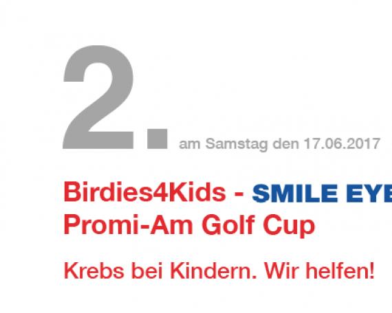 2. PromiAm Golf Cup zugunsten Birdies4Kids