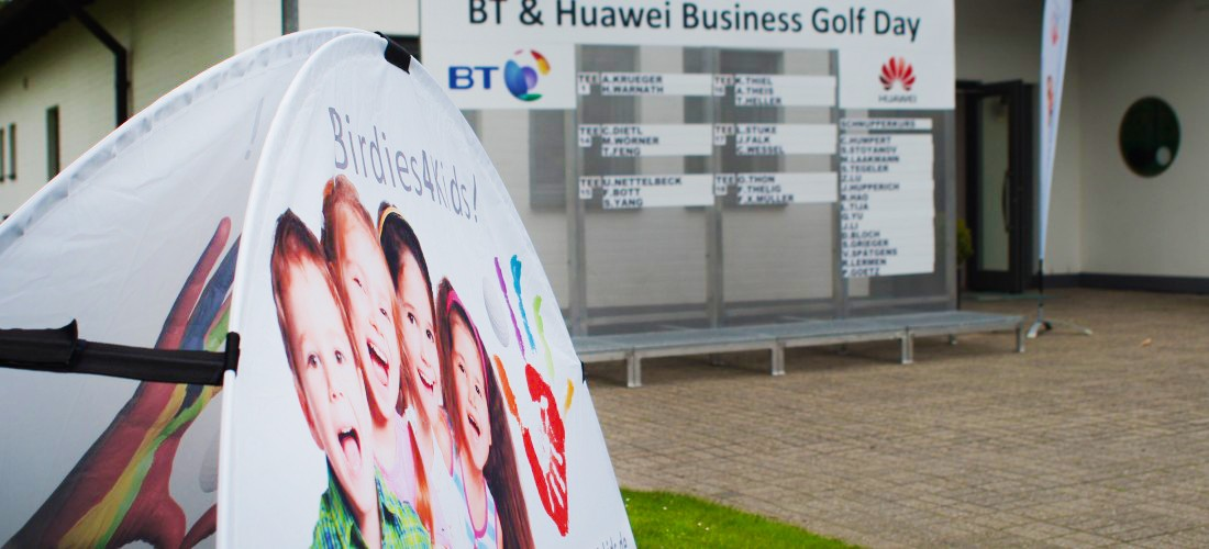 BT & Huawei Business Golf Day