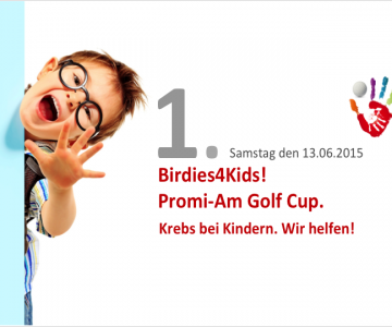 PromiAm Golf Cup zugunsten Birdies4Kids